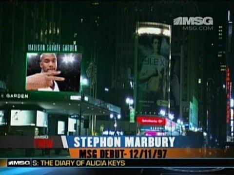MSG Debuts - Stephon Marbury