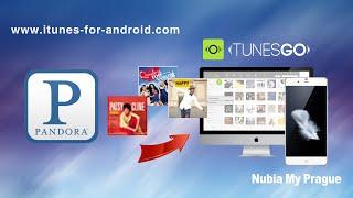 [Music Downloads for ZTE Nubia]: Download Music from Pandora to ZTE Nubia My Prague / Nubia Z9 on PC