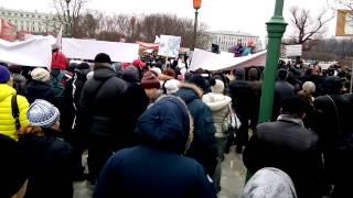 Митинг дольщиков ГК Город,ЛенСпецСтрой,Питер-Констракшн