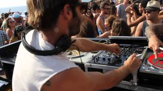Stephan Bazbaz @ E-boded beach party 2013 Tel Aviv 2