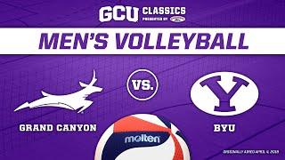 GCU Classics: Men's Volleyball vs BYU April 4, 2019