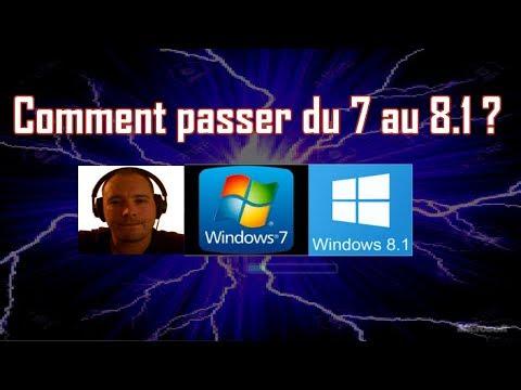 Comment Passer De Windows 7 à 8.1 - Mettre Windows 8.1 Sur Pc Tablette