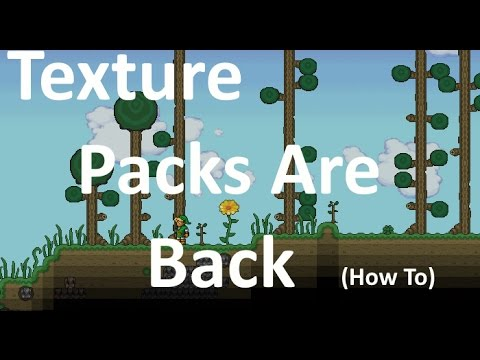 How to get texture packs terraria 1.3!