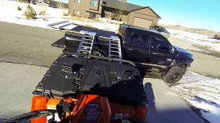 Diamondback atv truck cover