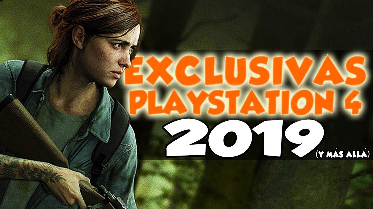7 Juegos Exclusivos Para Playstation 4 Que Salen En 2019 Youtube