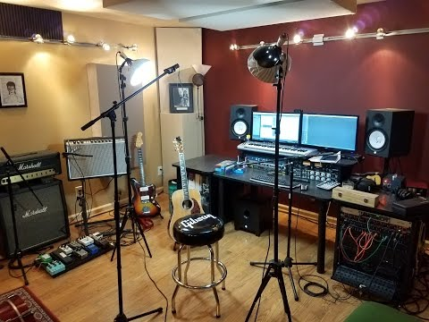 Home Studio Tour 2017