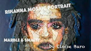 Rihanna mosaic portrait - GoPro -