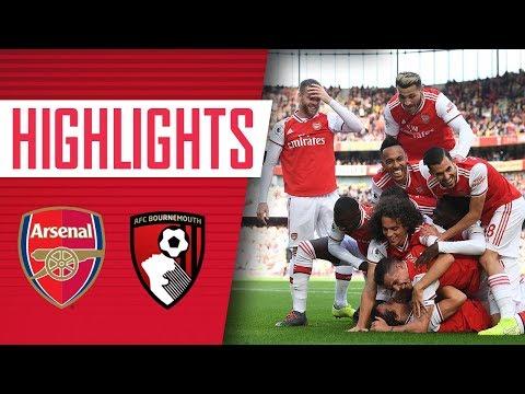 DAVID LUIZ'S FIRST ARSENAL GOAL! | Arsenal 1 – 0 Bournemouth | Goals & highlights