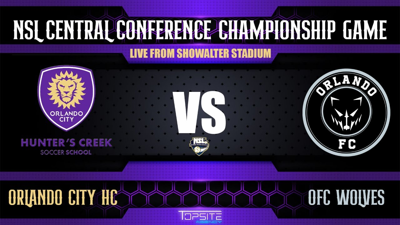 Download NSL CENTRAL CONFERENCE CHAMPIONSHIP GAME - ORLANDO CITY HUNTERS CREEK VS OFC WOLVES