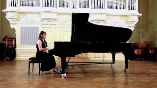 Аспирантский концерт часть 1 Яна Данишевская