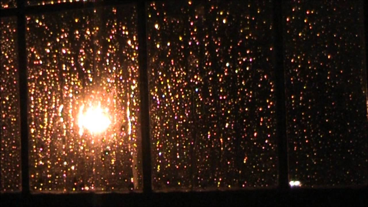 Cozy Fall Wallpaper 4am Rain On A Window Youtube