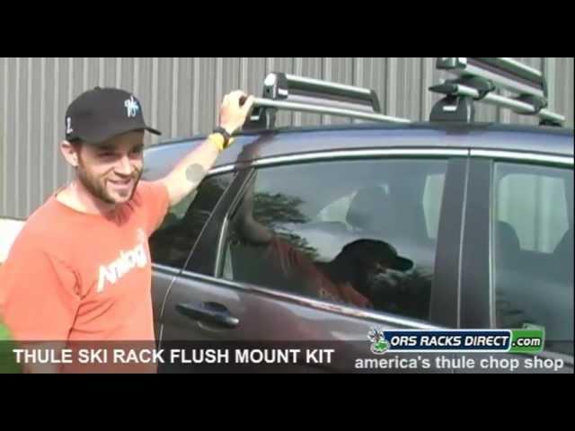 thule ski rack flush mount adapter kit