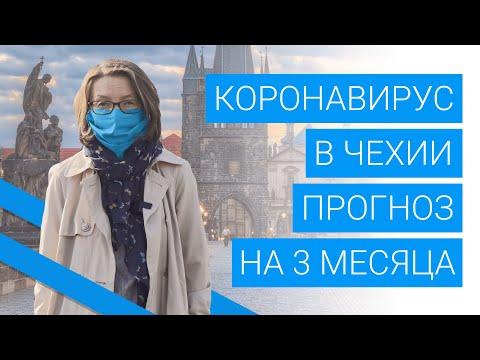 Коронавирус в Чехии: прогноз на 3 месяца