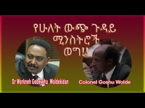 የሁለት ውጭ ጉዳይ ሚንስትሮች ወግ!! The Talk of two Foreign Ministers Feb 21 2017