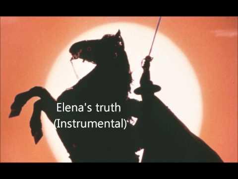 The Mask of Zorro [4] Elena's truth