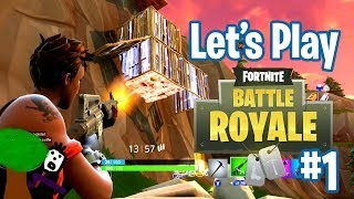 HOW NOT TO BATTLE ROYALE | Fortnite Gameplay Part 1 | Pass the Controller