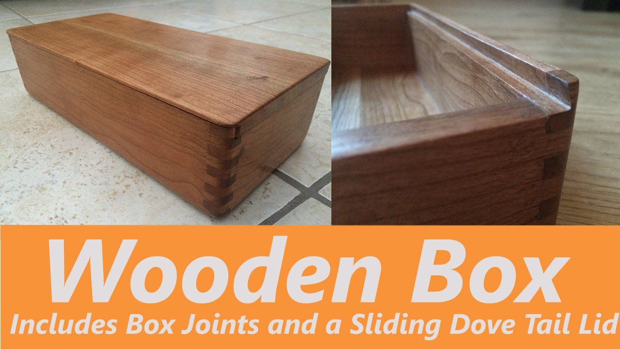 Make wood box Simple Wooden How To Make Wooden Box Using Finger Joints Includes Sliding Dovetail Lid Youtube Amazoncom How To Make Wooden Box Using Finger Joints Includes Sliding Dove