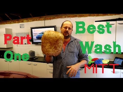The best car wash mitt review PART 1