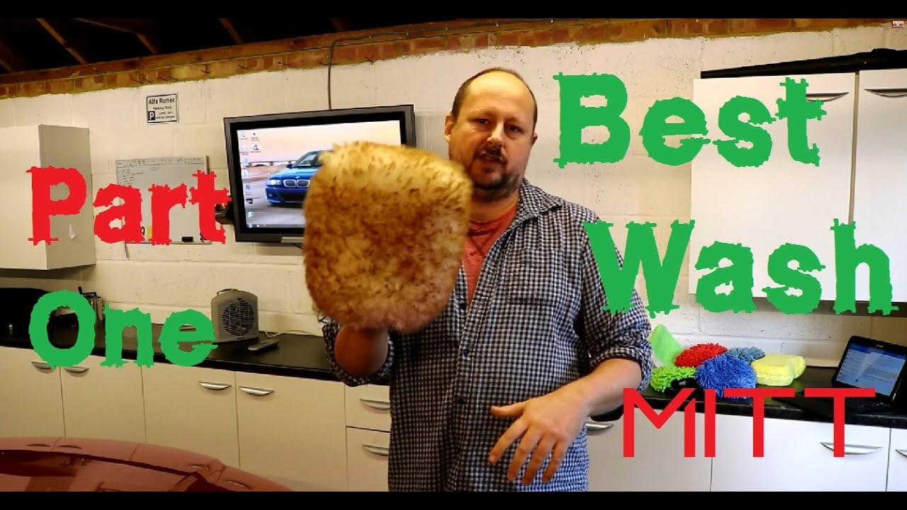 The best car wash mitt review PART 1 - YouTube
