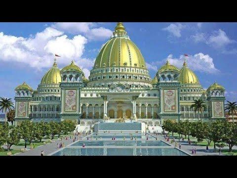 अयोध्या में राम मंदिर का  माडल | Ram mandir model | Ram Janmabhoomi Mandir
