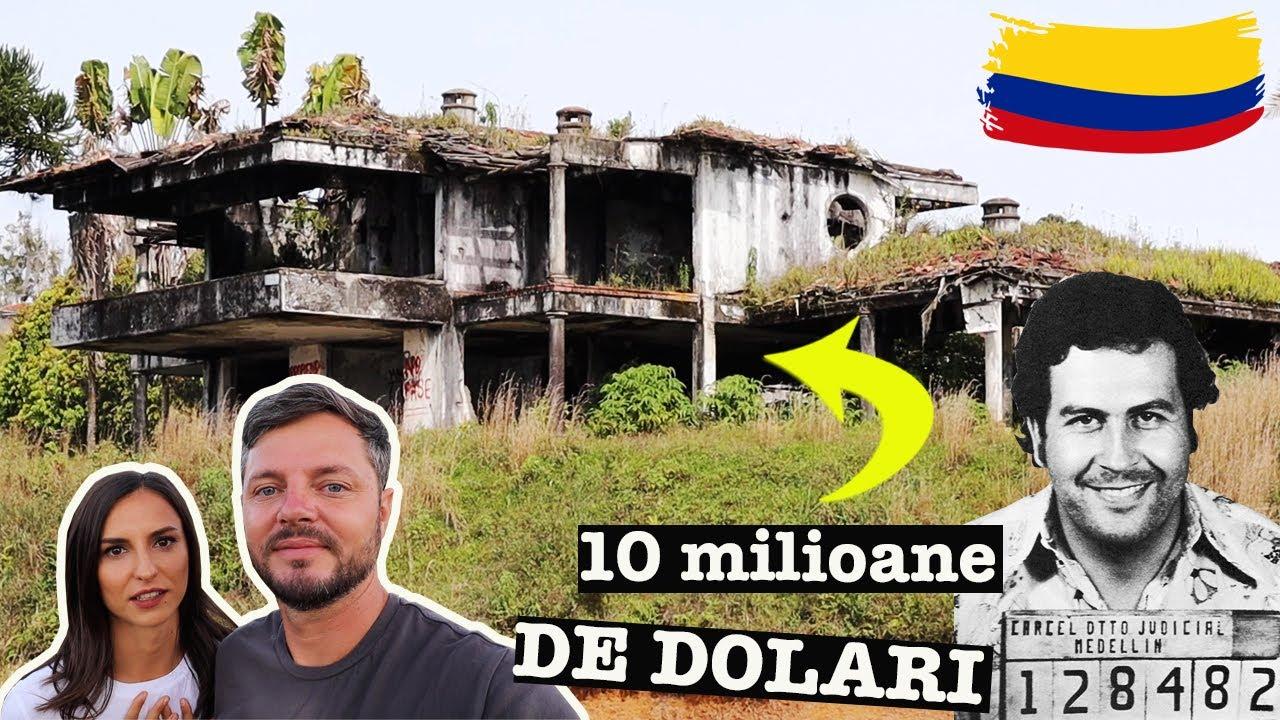 Vila PARASITA a lui Pablo Escobar | La Manuela, Columbia