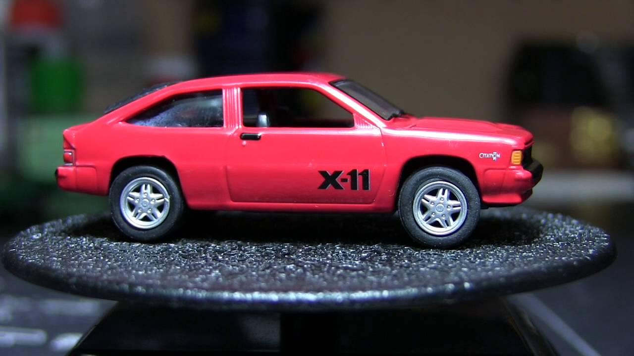 All Chevy 1985 chevrolet citation : Johnny Lightning : 1985 Chevy Citation X 11 - YouTube