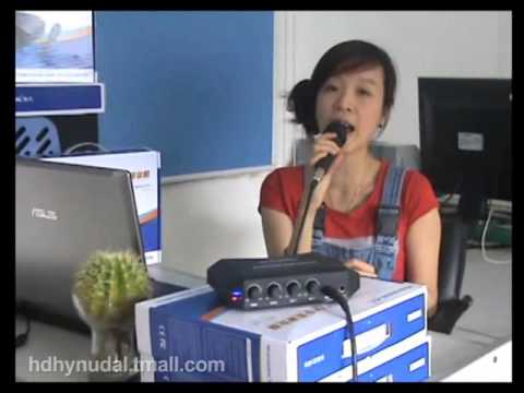 $55 Online karaoke Player with Condenser Microhpones Best Karaoke converter for PC Laptop DVD