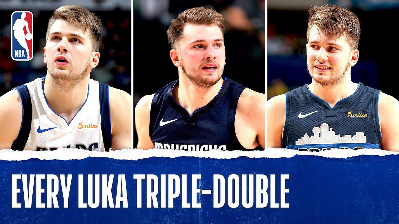 Image result for EVERY Luka Doncic TRIPLE-DOUBLE Of His Career