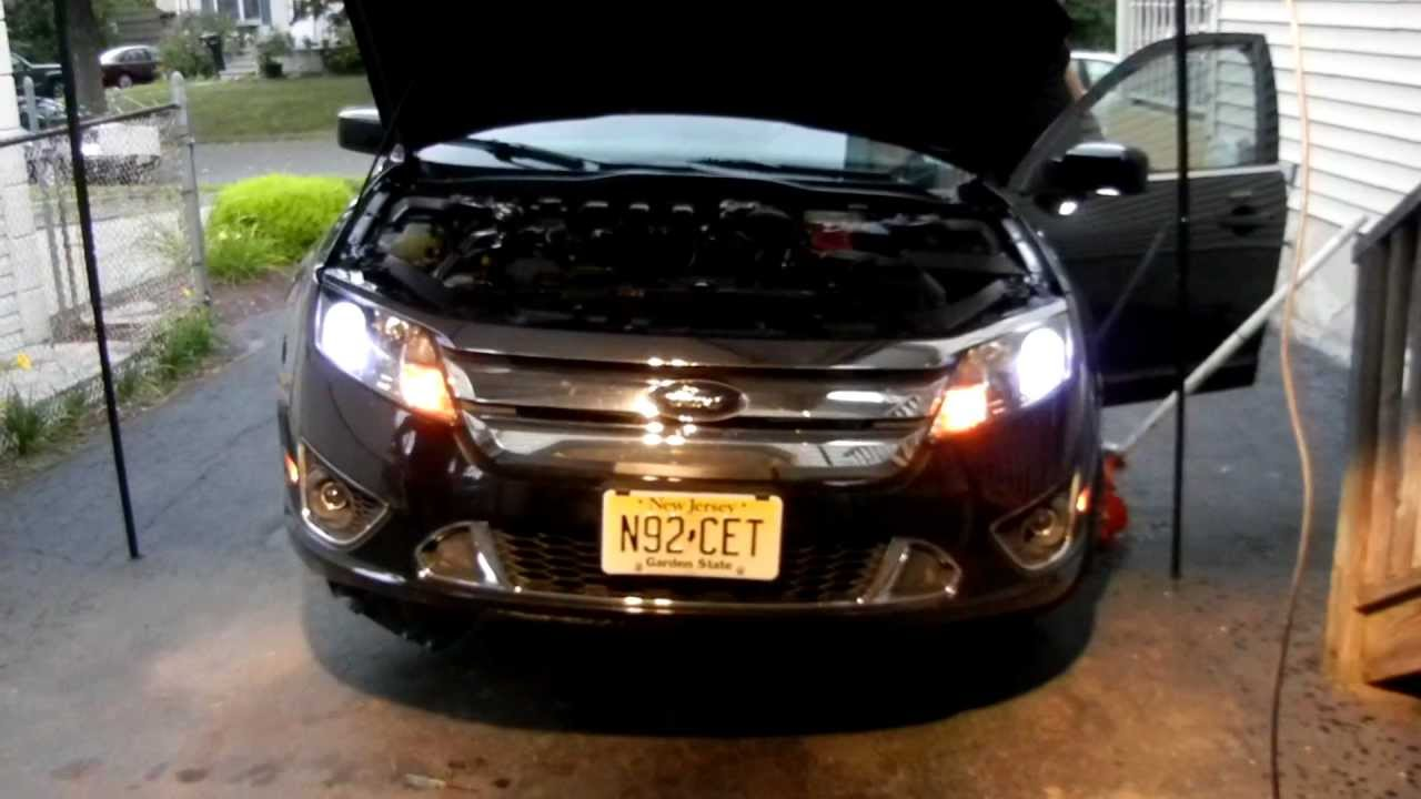 How To: Install HIDs on a 2010 Ford Fusion Sport  8000k