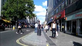 Oxford Street in London - Cidade Cosmopolita