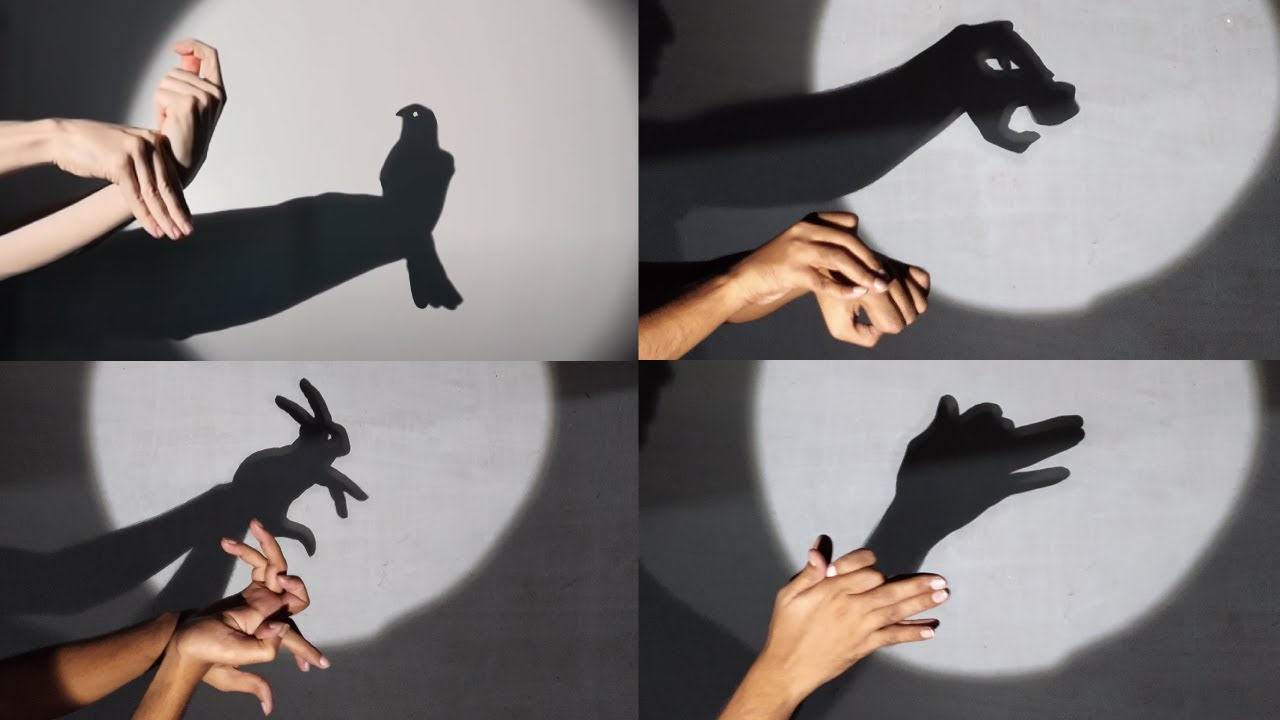 Guess the hand shadow animal III hand shadow puppets show. - YouTube