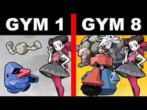 If Every Pokemon Gym Leader Was The Last One