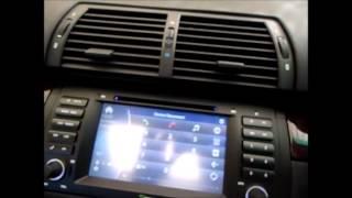 Video Eonon D5166ZA installation into a BMW X5 E53 download MP3, 3GP, MP4, WEBM, AVI, FLV Maret 2018