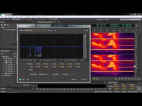 Adobe Audition CS6 Tutorial | Reducing Background Noise | InfiniteSkills