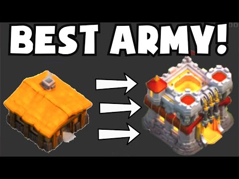 Clash of Clans BEST ATTACK STRATEGY / FARMING ARMY FOR ANY TOWN HALL LEVEL | 1 MILLION LOOT RAIDS