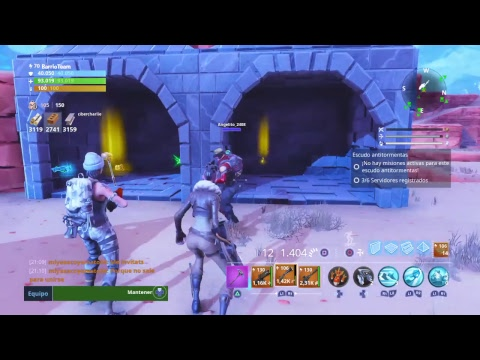 EL MAYOR REGALANDO ARMAS CON CIBERCHARLIE *FORTNITE SALVAR EL MUNDO*!! ID Epic: DieguitoC95 streaming vf