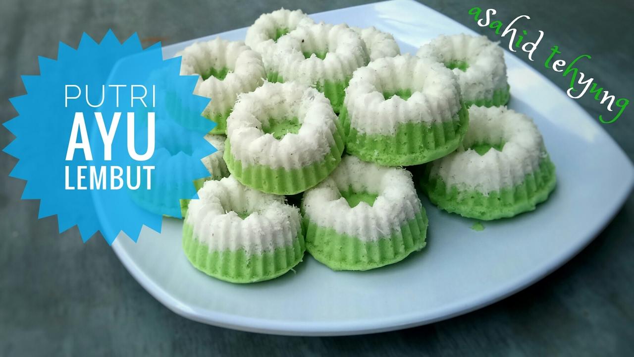How To Make Putri Ayu Cake