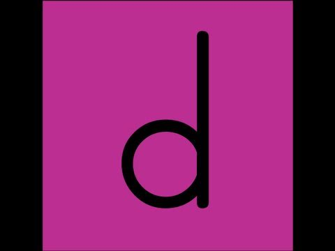 Letter D Song Video - YouTube