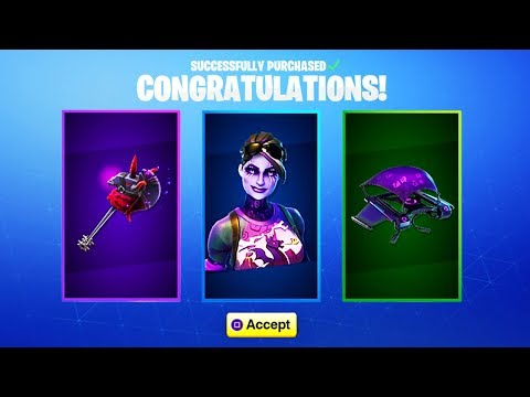 I GOT THE NEW DARK BOMBER SKIN! FORTNITE HALLOWEEN SKINS 2018! (New Fortnite Halloween Update)