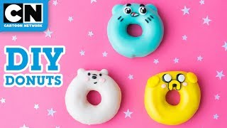 DIY Gumball, Ice Bear and Jake Donuts | Cartoon Network | LET'S BUILD