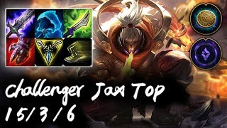 Challenger Jax Top vs Camille | Korea High Elo