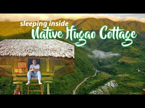 MOST UNIQUE HOTEL EXPERIENCE you'll find in BANAUE!! 🌳 | SPECTACULAR View!!