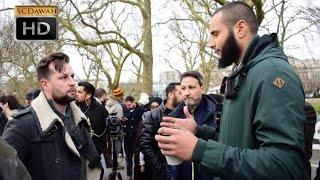 Media Mess!? Mohammed Hijab & Polite Visitor   Speakers Corner   Hyde Park