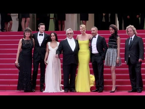 Tom Hardy, Charlize Theron, Nicholas Hoult and Zoe Kravitz at the Mad Max Premiere in Cannes