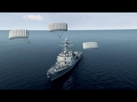 e2e1de9b8e2d9 USS Nathan James tries to reach land - YouTube