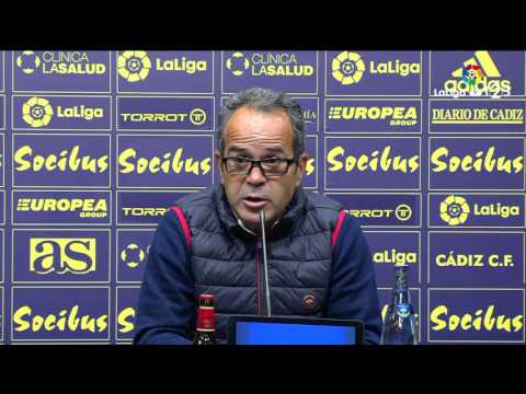 Rueda de prensa de Álvaro Cervera tras el Cádiz CF vs CD Tenerife (0-1)