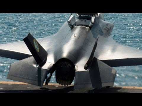 OUTSTANDING F-35 FOOTAGE & SOUND! Best aircraft carrier TAKEOFF & LANDING compilation ever!