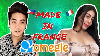 I FOUND A GÏRL FROM FRANCE ON OMEGLE / OMETV | PINOY PICK UP LINES | KANE ATIENZA
