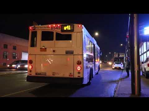 MTA Bus Company 2005 Orion VII Hybrid 6545 On The Q41 @ Atlantic Avenue & Van Wyck Expressway