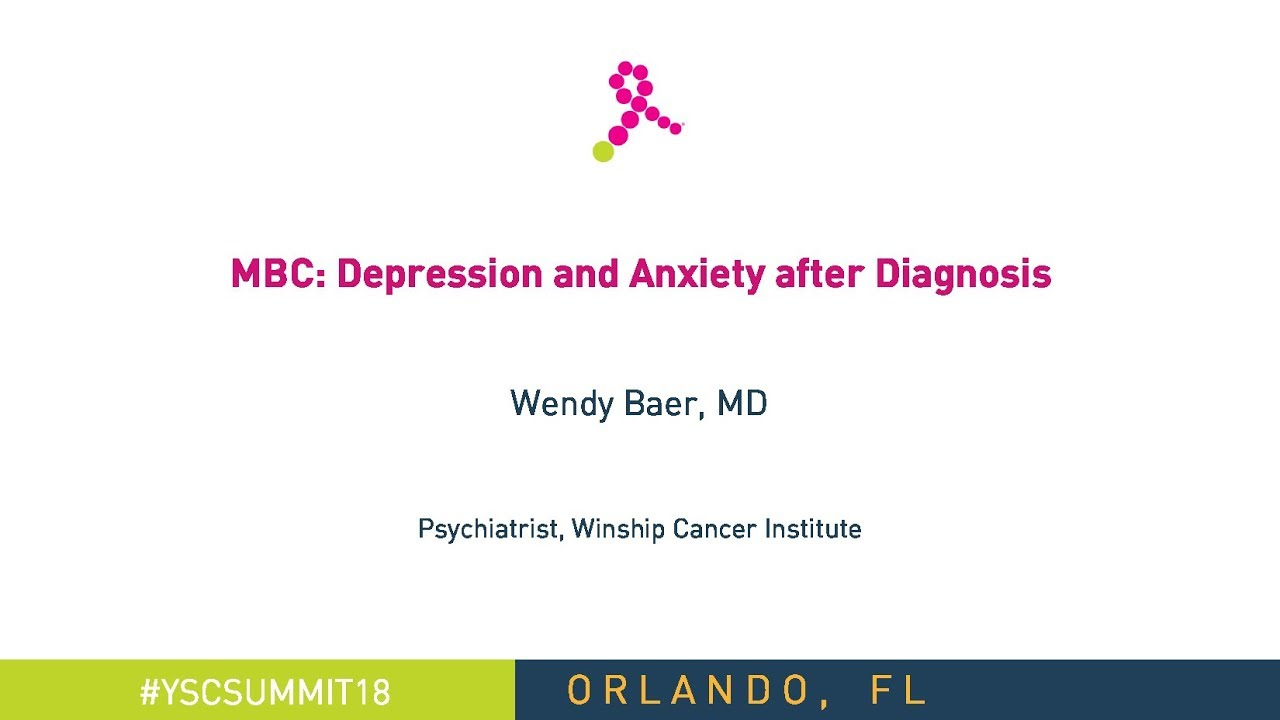 Metastatic Breast Cancer: Depression & Anxiety after ...